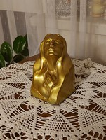 Antik muzeális Zsolnay eozin Madonna! 1920 körúli!