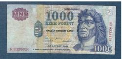 2000 1000 Forint DB sorozat  Millennium F