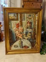 Vörös Géza képcsarnokos gyönyörű festménye!