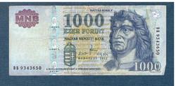 2011 1000 Forint DB sorozat