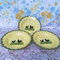 Kakasos tányérok