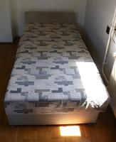 Ágyneműtartós ágy + éjjeli szekrény 17.kerület