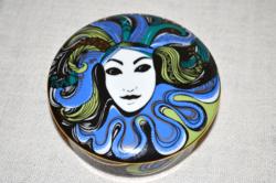 Hollóházi Vészabó Noémi porcelán bonboier exclusive  ( DBZ 0025 )