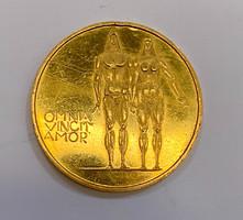 Arany emlékérem,Kiss Nagy András, 'Omnia Vincit Amor',RR.