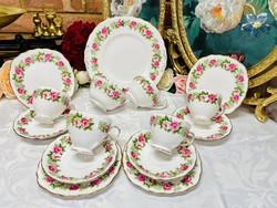 English porcelain tea breakfast set