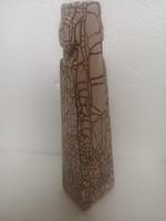 Retro midcentury gorka style alakos kerámia váza