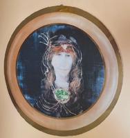 Szász Endre női portré - kép / nyomat