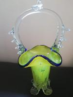 Üveg kosár 22 cm