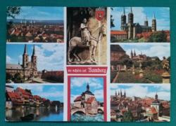 Németország,Bamberg,használt képeslap