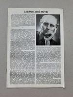 Jenő Gadányi - catalog