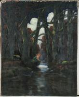 Kézdi Kovács László 1906 Szirén a folyóparton
