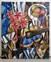 ART DECO csendélet- Samuel Veksler