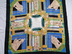 Vintage Tino Lauri selyemkendő, selyemsál