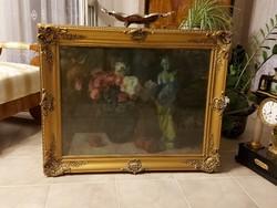 Moldován István ragyogó képcsarnokos festménye!