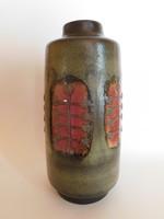 Veb Haldensleben  retro kerámia váza 28 cm