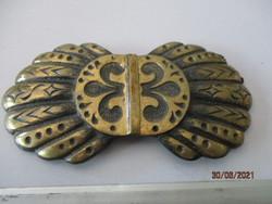 Nagyon régi bronz övcsat, igazi ritkaság.