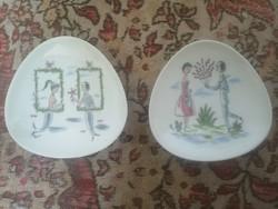 Retro midcentury vicces Rosenthal porcelán tálak