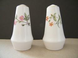 Minton Bone China angol porcelán só és borsszóró készlet