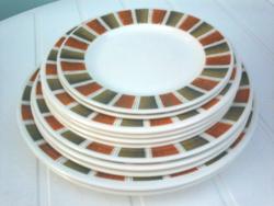 Lord Nelson, angol lapos tányérok 11 db együtt