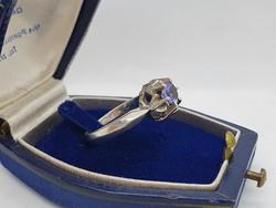 Tanzanit Köves Ezüst Gyűrű II.