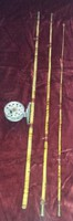 Bambusz horgászbot 370 cm + orsó