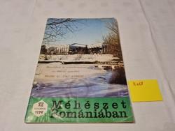 Méhészet Romániában folyóirat 1979 december