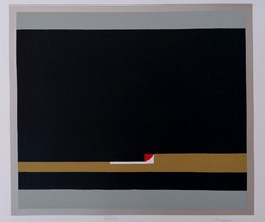 Barcsay Jenő (1900 - 1988  )  Próba