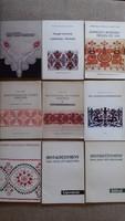 Hímzésminta gyűjtemény (9db)