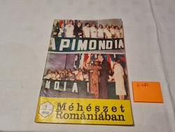 Méhészet Romániában folyóirat 1982 január