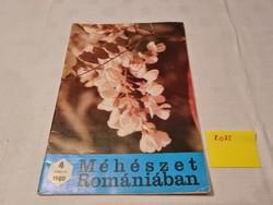 Méhészet Romániában folyóirat 1980 április