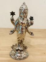 Álló Keleti ezüst szobor talapzaton