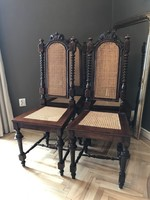 Antik 4 db szék