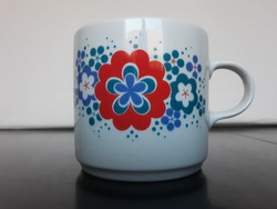 Alföldi porcelán 'Bella' mintás bögre