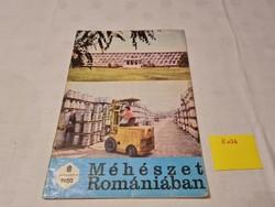 Méhészet Romániában folyóirat 1980 augusztus
