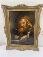Gyönyörű Antik Olaj Festmény eladó !