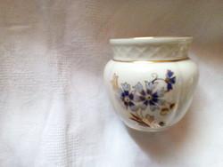 Zsolnay mini váza, kaspó