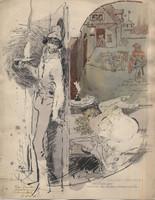 Zórád Ernő festmény: Villon - Faludy