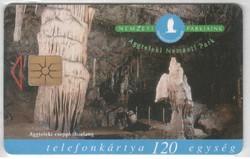 Magyar telefonkártya 0772    1998  Aggteleki nemzeti park  GEM 3   100.000  darab