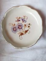 Zsolnay porcelán gyűrűtartó tálka