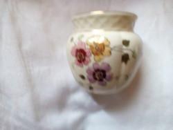 Zsolnay porcelán váza, kaspó