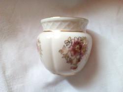 Zsolnay porcelán kis váza ,kaspó