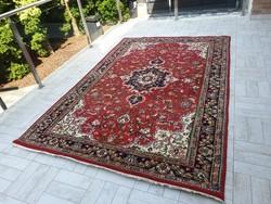 Hatalmas kézi csomózású 200x300 gyapjú perzsa szőnyeg   MK_11