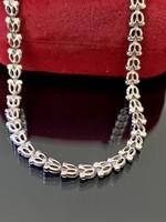Különleges ezüst nyaklánc