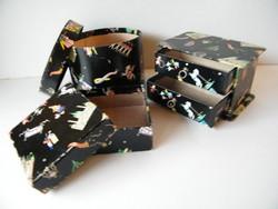 Vintage Altmann& Kühne bécsi bonbonos dobozok 3 db (Lukáts Kató terv)