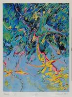 Pollacsek Kálmán - Harang 39 x 29 cm szita 1998