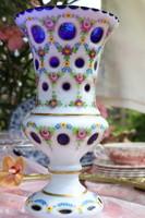 Hántolt üveg váza