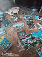 70 darabos képeslap gyűjtemény Cannes, Monaco, Zürich, Marseille, Padova, Bern.. az 1970-es évekből