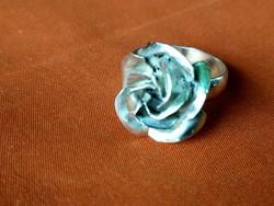 Rozsa ezüst gyűrű