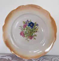 Zsolnay süteménykínáló tál/tányér