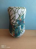 Mihály Béla dekoratív kerámia váza